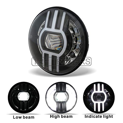 7 Inch Trinetra Projector 90w Led Headlight For Royal
