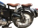 Sahara Harley Type Slim with Spring Front and Rear Seat Bullet Electra and Standard